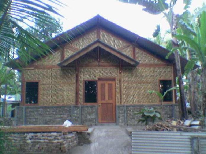 84+ Desain Rumah Bambu Tradisional Modern Dan Semi & Gambar Rumah Bambu Semi Permanen - Gratis Omah