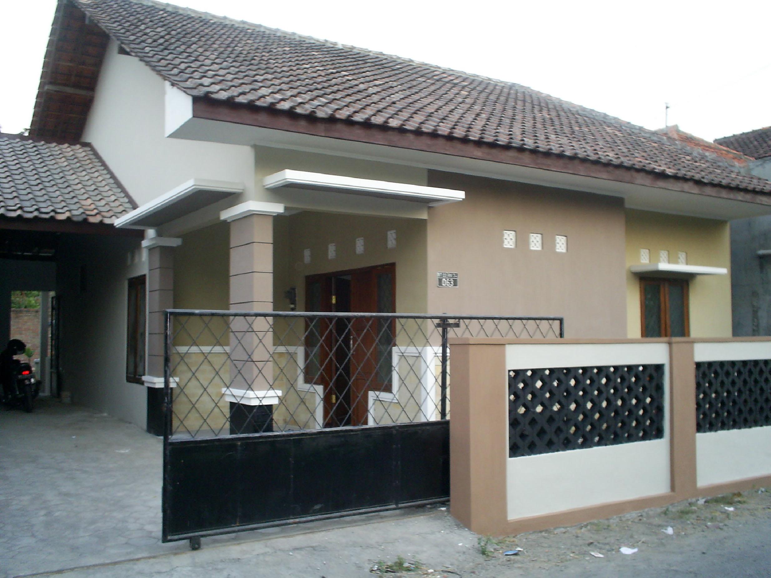 Pembangunan Rumah Tinggal Tipe 100 Milik Bpk Elo. Tahun 2007, Lokasi ...